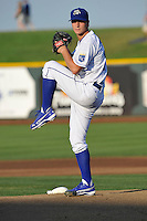 Omaha Storm Chasers pitcher Jake Odorizzi (27) in action against the Reno Aces at Werner Park on August 3, 2012 in Omaha, Nebraska.(Dennis Hubbard/Four Seam Images)