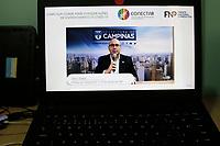 Campinas (SP), 21/05/2021 - Cidades - O prefeito da cidade de Campinas (SP), Dário Saadi, que é vice-presidente da área de Saúde da Frente Nacional de Prefeitos (FNP), apresenta nesta manhã de sexta-feira (21), em evento virtual da Frente Nacional de Prefeitos (FNP) e do Consórcio Conectar, um trabalho com indicadores de avaliação e monitoramento da pandemia de coronavírus em Campinas (SP). O projeto servirá de exemplo para outras cidades do Brasil. O evento tem transmissão ao vivo pelo Facebook do prefeito.
