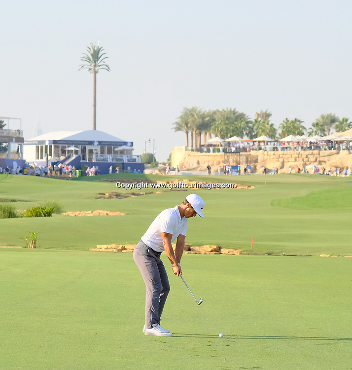 Thorbjorn OLESEN (DEN) during round one of the 2016 DP World Tour Championships played over the Earth Course at Jumeirah Golf Estates, Dubai, UAE: Picture Stuart Adams, www.golftourimages.com: 11/17/16
