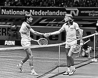 1978, ABN Tennis Toernooi, Louk Sanders en Bjorn Borg