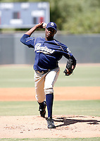 Simon Castro / San Diego Padres 2008 Instructional League..Photo by:  Bill Mitchell/Four Seam Images