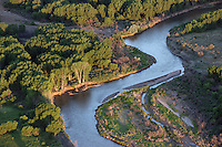 Arkansas River as it approaches Lake Pueblo, Colorado. June 2014. 85788