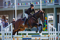 NZL-Charlize Clark rides Argio. Class 24: Horse 1.00m Ranking Class. 2021 NZL-Easter Jumping Festival presented by McIntosh Global Equestrian and Equestrian Entries. NEC Taupo. Saturday 3 April. Copyright Photo: Libby Law Photography