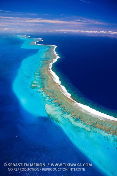 Grand Récif Abore au large de Nouméa, Nouvelle-Calédonie