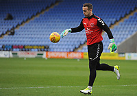 Fleetwood Town's Alex Cairns during the pre-match warm-up <br /> <br /> Photographer Kevin Barnes/CameraSport<br /> <br /> The EFL Sky Bet League One - Shrewsbury Town v Fleetwood Town - Tuesday 1st January 2019 - New Meadow - Shrewsbury<br /> <br /> World Copyright © 2019 CameraSport. All rights reserved. 43 Linden Ave. Countesthorpe. Leicester. England. LE8 5PG - Tel: +44 (0) 116 277 4147 - admin@camerasport.com - www.camerasport.com