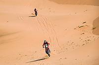 6th January 2021; Wadi Al Dawasir to Riyadh, Saudia Arabia; Dakar 2021 Rally, stage 4;  #88 Barreda Bort Joan (esp), Honda, Monster Energy Honda Team 2021, Motul, Moto, Bike, action during the 4th stage of the Dakar 2021 between Wadi Al Dawasir and Riyadh, in Saudi Arabia on January 6, 2021