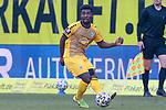 20.02.2021, xtgx, Fussball 3. Liga, FC Hansa Rostock - SV Waldhof Mannheim, v.l. Manfred Osei Kwadwo (Mannheim) <br /> <br /> (DFL/DFB REGULATIONS PROHIBIT ANY USE OF PHOTOGRAPHS as IMAGE SEQUENCES and/or QUASI-VIDEO)<br /> <br /> Foto © PIX-Sportfotos *** Foto ist honorarpflichtig! *** Auf Anfrage in hoeherer Qualitaet/Aufloesung. Belegexemplar erbeten. Veroeffentlichung ausschliesslich fuer journalistisch-publizistische Zwecke. For editorial use only.