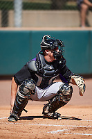Colorado Rockies Brian Serven (95) during an Instructional League game against SK Wyvern of Korea on October 5, 2016 at Salt River Fields at Talking Stick in Scottsdale, Arizona.  (Mike Janes/Four Seam Images)