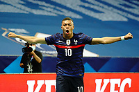 Joie - Kylian MBappe (France) celebrates after scoring a goal <br /> Uefa European friendly football match between France and Wales at Allianz Riviera stadium in Nice (France), June 2nd, 2021. Photo Norbert Scanella / Panoramic / Insidefoto <br /> ITALY ONLY