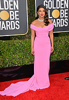 LOS ANGELES, USA. January 06, 2020: Priyanka Chopra arriving at the 2020 Golden Globe Awards at the Beverly Hilton Hotel.<br /> Picture: Paul Smith/Featureflash