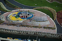 aerial photograph playground Port of Oakland, California