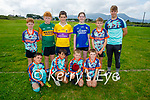 Enjoying the Cúl Camps in Churchill on Tuesday, kneeling l to r: Cian Slattery, Shay Gilligan, Patrick Egan and Conor Stack.<br /> Back l to r: Eamon Og McElligott, Gavin Deasey, Tom Lenihan, Ciara Quilter, Zac Carney and Kevin Byrnes.