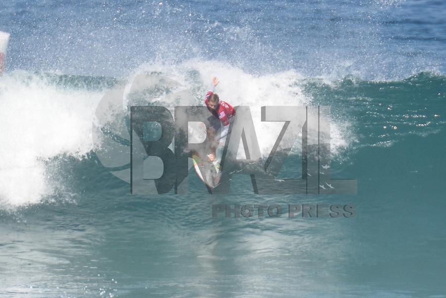 SAQUAREMA, RJ, 16.05.2018 - WSL-RJ - Kolohe Andino, no Oi Rio Pro etapa da WSL na Praia de Itaúna, Saquarema, Rio de Janeiro nesta quarta-feira, 16.(Foto: Clever Felix/Brazil Photo Press)