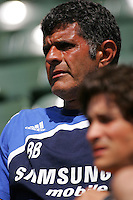 Chelsea FC coach during David Beckham's first practice with LA Galaxy at the Home Depot Center in Carson, California, Monday, July 16, 2007.