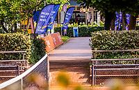 Hilversum, Netherlands, August 5, 2021, Tulip Tennis center, National Junior Tennis Championships 16 and 18 years, NJK, Doubles ,<br /> Photo: Tennisimages/Henk Koster