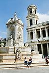 Europa, Frankreich, France, Paris, Luxembourg, Eglise Saint Sulpice, , 10.09.2014