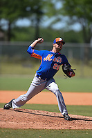 New York Mets pitcher Craig Missigman (26) during a minor league spring training game against the Miami Marlins on March 30, 2015 at the Roger Dean Complex in Jupiter, Florida.  (Mike Janes/Four Seam Images)