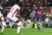 Lionel Messi scores a goal <br /> 07/12/2019 <br /> Barcelona - Maiorca<br /> Calcio La Liga 2019/2020 <br /> Photo Paco Largo Panoramic/insidefoto <br /> ITALY ONLY