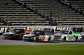 #15: Anthony Alfredo, DGR-Crosley, Toyota Tundra STEELSMITH and #16: Austin Hill, Hattori Racing Enterprises, Toyota Tundra Ennis Steel