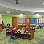 Licking County Library Main Branch Children's Area