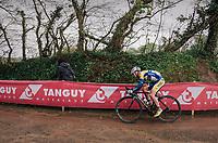 Milan Menten (BEL/Sport Vlaanderen - Baloise)<br /> <br /> 35th Tro Bro Leon 2018<br /> 1 Day Race: Le Carpont - Lannilis (FRA/203km)