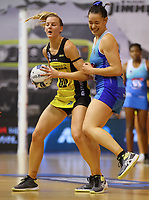 Katrina Rore in action during the ANZ Championship netball match between Northern Mystics and Central Pulse at the Auckland Netball Centre in Auckland, New Zealand on Saturday 18 July 2020. Photo: Simon Watts / bwmedia.co.nz