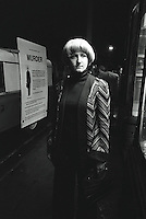 Pix: Barry Wilkinson/SWpix.com. The Yorkshire Ripper Archive. 14th May 1979 - 11th May1980...COPYRIGHT PICTURE>>SIMON WILKINSON>>0870 092 0092>>..WPC Lena Marcovic dressed as Yvonne Pearson.