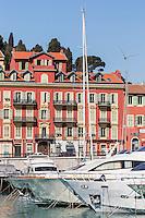 Europe/France/Provence-Alpes-Côte d'Azur/Alpes-Maritimes/ Nice: Le Port Lympia ou port de Nice, les yachts  //   // Europe, France, Provence-Alpes-Côte d'Azur, Alpes-Maritimes, Nice:  Lympia port or port of Nice, yacht