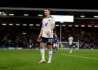 21st September 2021; Craven Cottage, Fulham, London, England; EFL Cup Football Fulham versus Leeds; Joe Bryan of Fulham