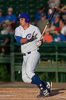 Rebel Ridling (33) of the Daytona Cubs during a game vs. the Brevard County Manatees May 25 2010 at Jackie Robinson Ballpark in Daytona Beach, Florida. Daytona won the game against Brevard by the score of 5-3.  Photo By Scott Jontes/Four Seam Images