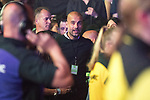 © Joel Goodman - 07973 332324 . No Editorial syndictaion permitted . 09/09/2017. Manchester , UK . Manchester City FC Manager PEP GUARDIOLA in the audience . We Are Manchester reopening charity concert at the Manchester Arena with performances by Manchester artists including  Noel Gallagher , Courteeners , Blossoms and the poet Tony Walsh . The Arena has been closed since 22nd May 2017 , after Salman Abedi's terrorist attack at an Ariana Grande concert killed 22 and injured 250 . Money raised will go towards the victims of the bombing . Photo credit : Joel Goodman