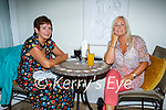 Enjoying the evening in Bella Bia on Saturday, l to r: Ann Donnelly and Liz Keane