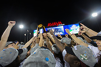 San Jose, Ca - December 4, 2016: University of Southern California defeated University of West Virginia 3:1 in the championship match of the NCAA Women's Soccer College Cup at Avaya Stadium in San Jose California.