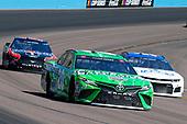 #20: Erik Jones, Joe Gibbs Racing, Toyota Camry Interstate Batteries, #51: B.J. McLeod, Petty Ware Racing, Chevrolet Camaro