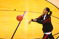 8 April 2008: Stanford Cardinal Melanie Murphy during Stanford's 64-48 loss against the Tennessee Lady Volunteers in the 2008 NCAA Division I Women's Basketball Final Four championship game at the St. Pete Times Forum Arena in Tampa Bay, FL.