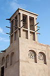 United Arab Emirates, Dubai: Wind tower, traditional form of cooling