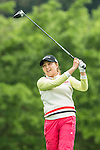 Yeun Jung Seo of South Korea tees off at the 18th hole during Round 1 of the World Ladies Championship 2016 on 10 March 2016 at Mission Hills Olazabal Golf Course in Dongguan, China. Photo by Victor Fraile / Power Sport Images