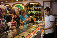 Kashi, Xinjiang Province, May 2014 - Jewellery shop