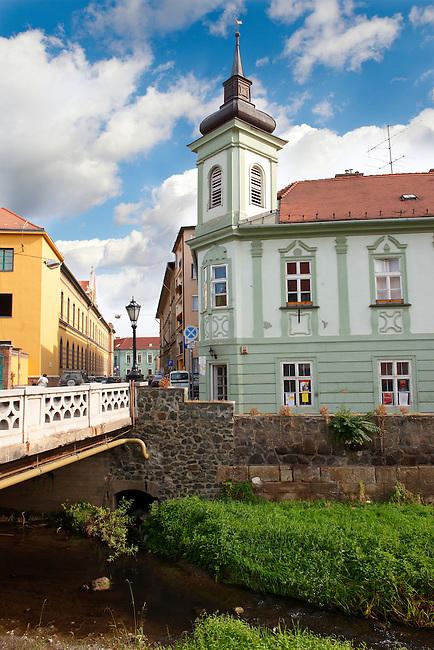 Calvin house ( Kalvin Haz ) reformation meting house. Eger, Hungary