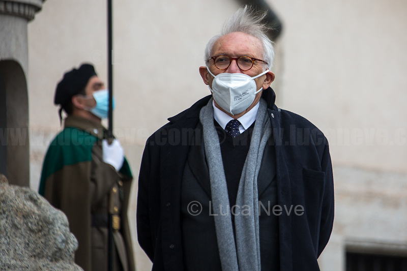 Patrizio Bianchi, Minister of Education. <br />