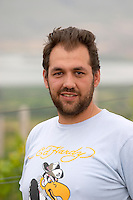George Kotsiou, vineyard manager, viticulturist. Amyntaion wine cooperative, Amyndeon, Macedonia, Greece