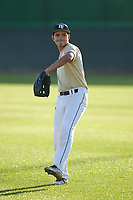 Saul Razo (48), from Rohnert Park, California, while playing for the Brewers during the Under Armour Baseball Factory Recruiting Classic at Gene Autry Park on December 27, 2017 in Mesa, Arizona. (Zachary Lucy/Four Seam Images)