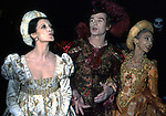 "CARLA FRACCI CON RUDOLF NUREYEV W MARGOT FONTAYN<br /> ""FESTA A CORTE"" PALAZZO DEL TE MANTOVA 1988"
