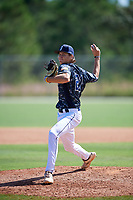 Stephen Loubier during the WWBA World Championship at the Roger Dean Complex on October 18, 2018 in Jupiter, Florida.  Stephen Loubier is a right handed pitcher from Winter Springs, Florida who attends Oviedo High School and is committed to Columbia.  (Mike Janes/Four Seam Images)