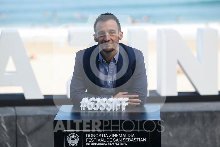 Spanish movie director Alejandro Amenabar poses during `Regression´ film presentation at 63rd Donostia Zinemaldia (San Sebastian International Film Festival) in San Sebastian, Spain. September 18, 2015. (ALTERPHOTOS/Victor Blanco)