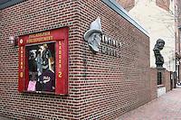 Fire station with Ben Franklin, Philadelphia, Pennsylvania, USA