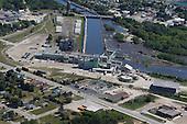 Manistique Paper Mill, Manistique, Upper Peninsula of Michigan.