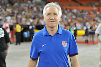 USWNT head coach Tom Sermanni. The USWNT defeated Mexico 7-0 during an international friendly, at RFK Stadium, Tuesday September 3 , 2013.