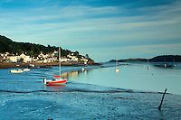 Kippford and the Rough Firth at dusk, Dumfries and Galloway
