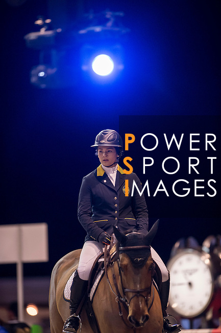 JETS riders attend Hong Kong Jockey Club Master Class held by Henrik Von Eckermann as part of the Longines Hong Kong Masters on 14 February 2015, at the Asia World Expo, outskirts Hong Kong, China. Photo by Victor Fraile / Power Sport Images